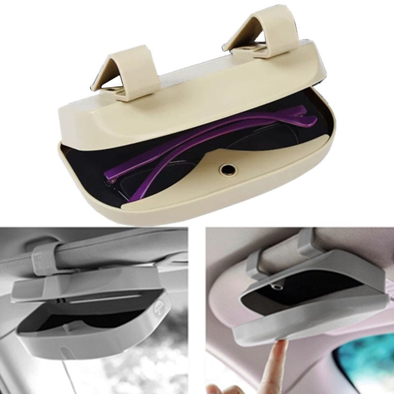 Car Sunglasses Storage Case Best Sellers Car Accessories Color Name : Black|Gray|Red|Yellow